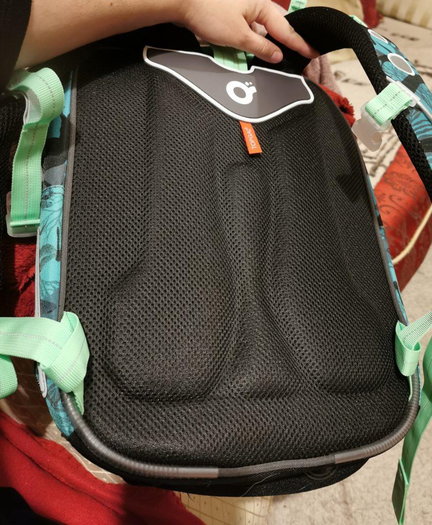 Plecak szkolny - usztywnienie